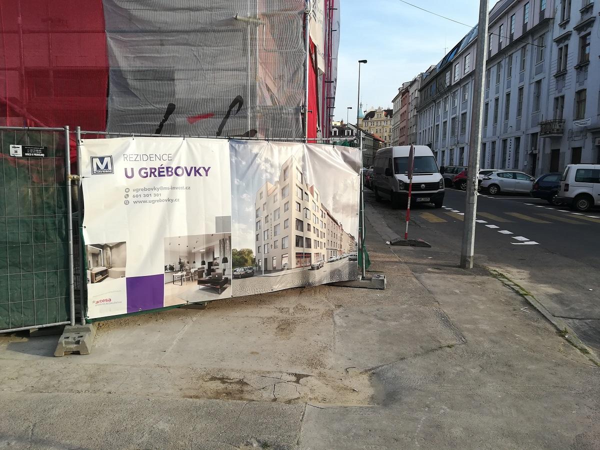 Novostavba Rezidence U Grébovky