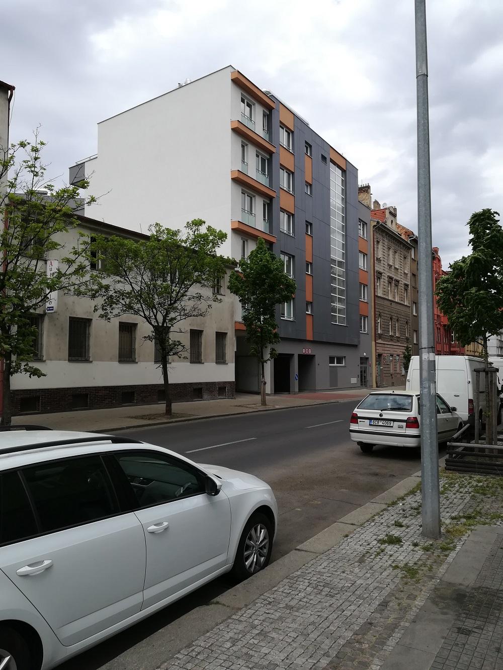 Nové byty na Petrohradské ulici