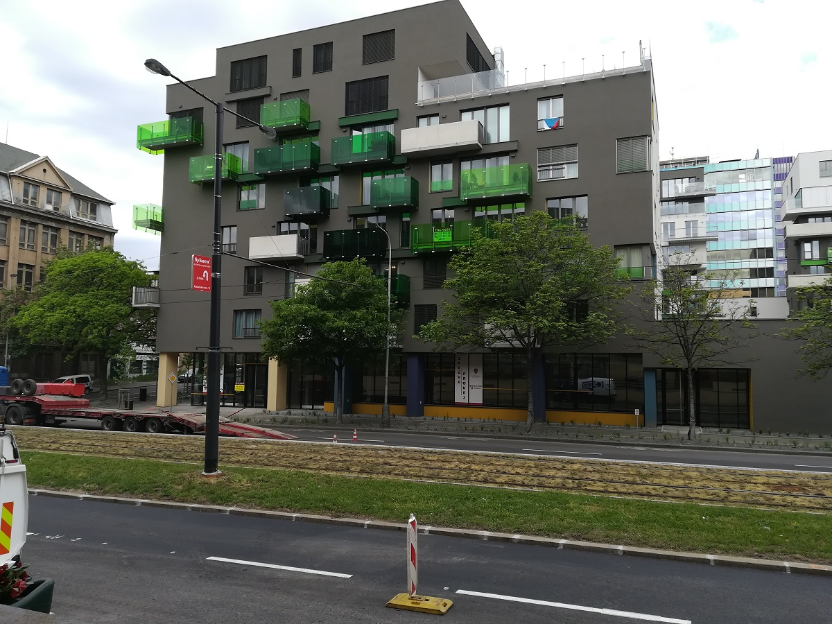 Novostavba na Vršovické ulici