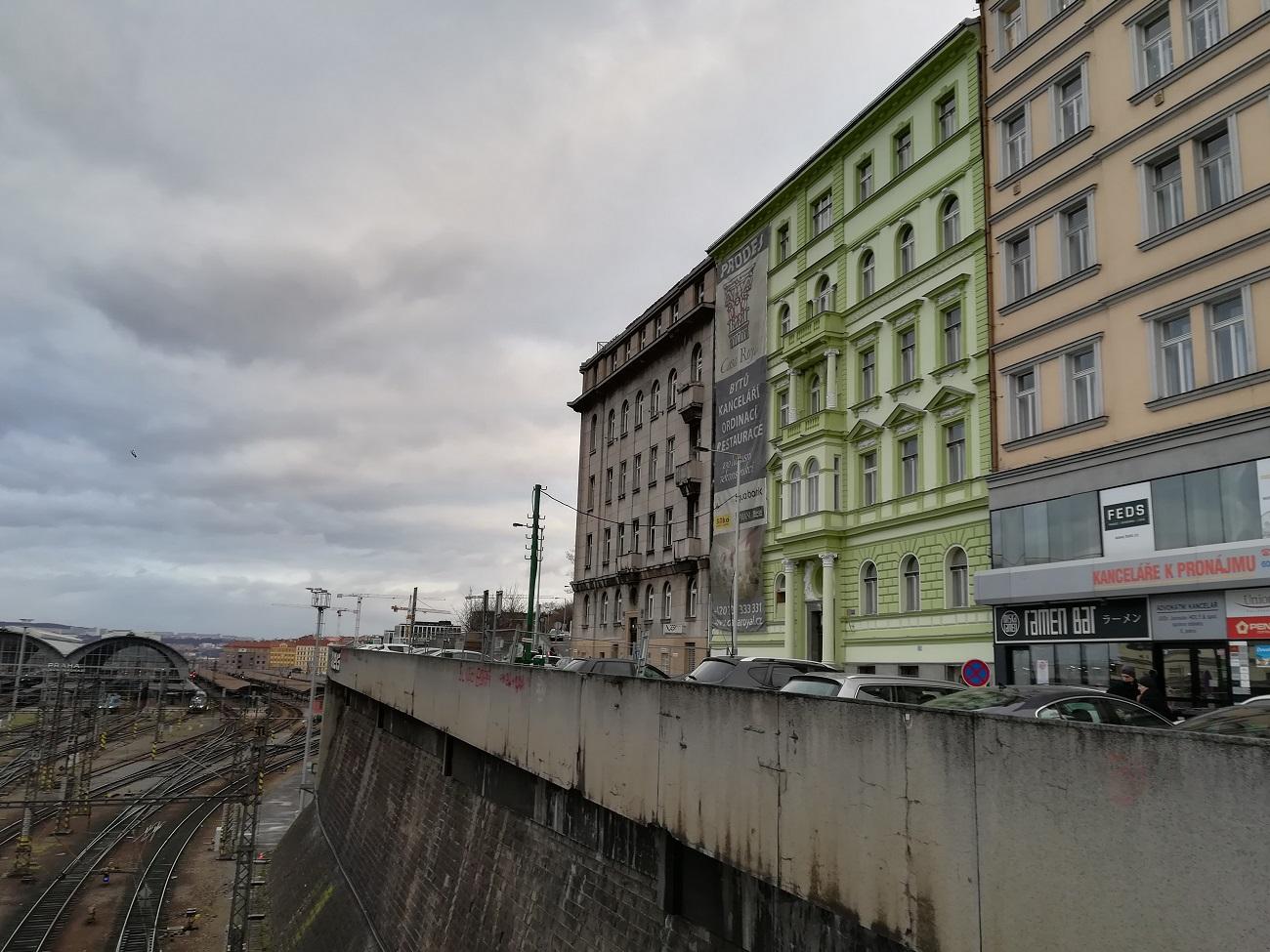 Nově zrekonstruované byty hned nad Hlavním nádražím v Praze