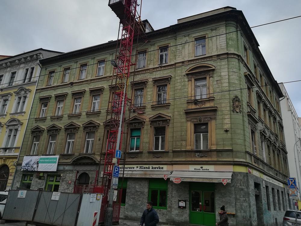 Nové půdní byty v pražském Karlíně