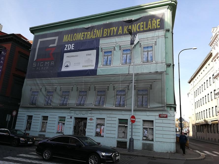 Malometrážní byty v centru Prahy