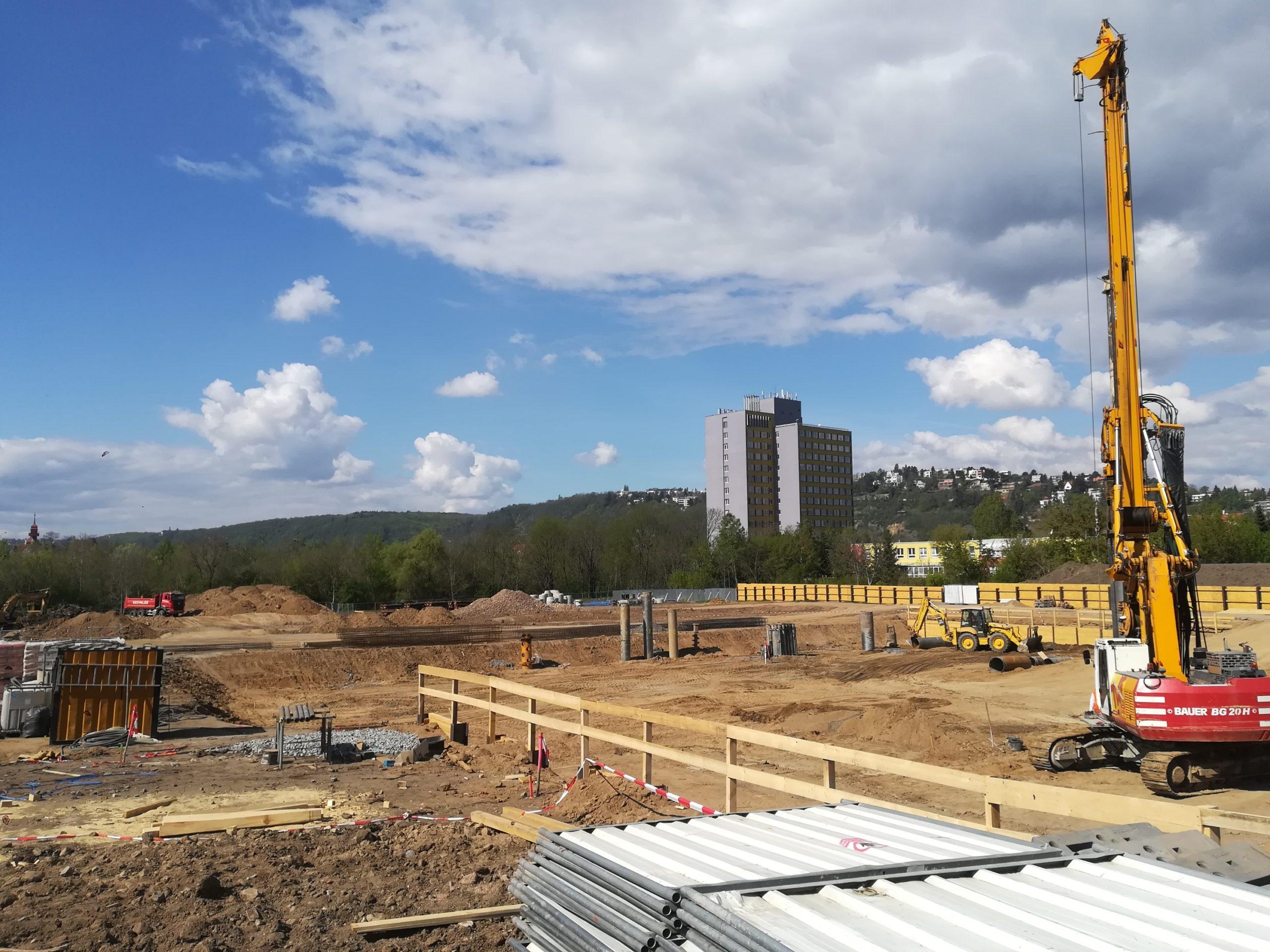 Na území pražského Braníka vyrostou nové bytové domy