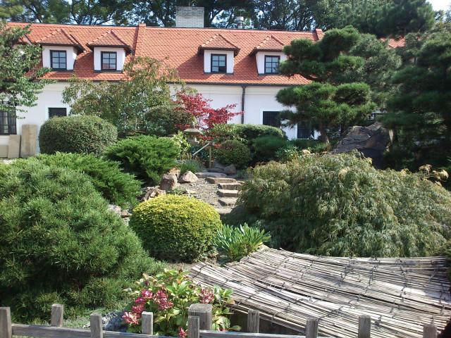 Japonská zahrada v Uherském Brodě