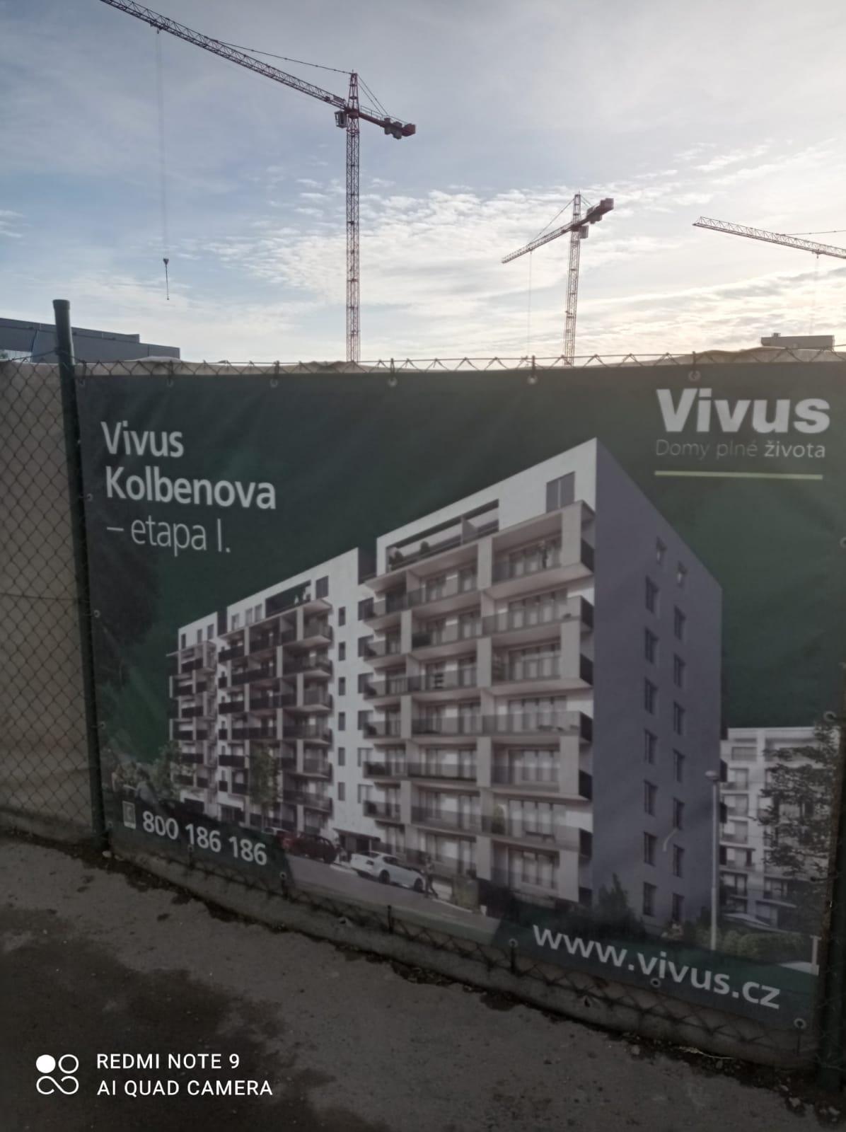 Vivus: Nové byty na ulici Kolbenova