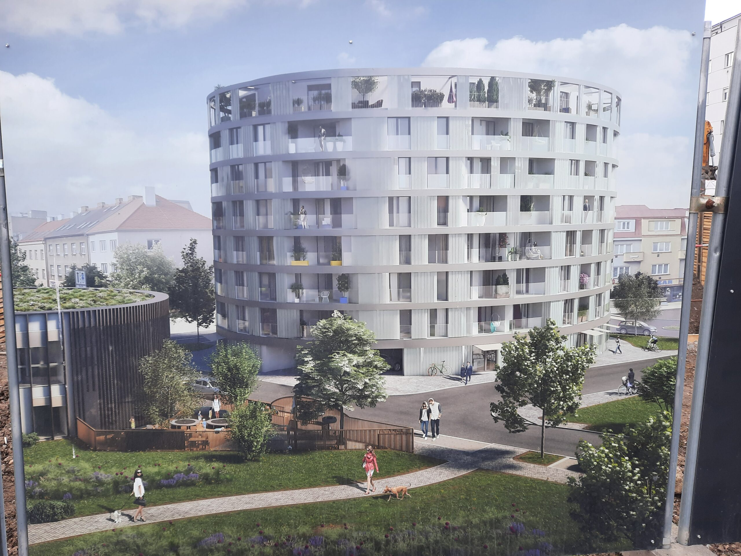 Rezidence Oliva, zahájen prodej bytů u parku Brumlovka