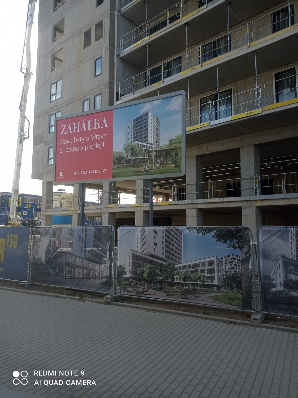 Nové byty u vody v pražských Modřanech