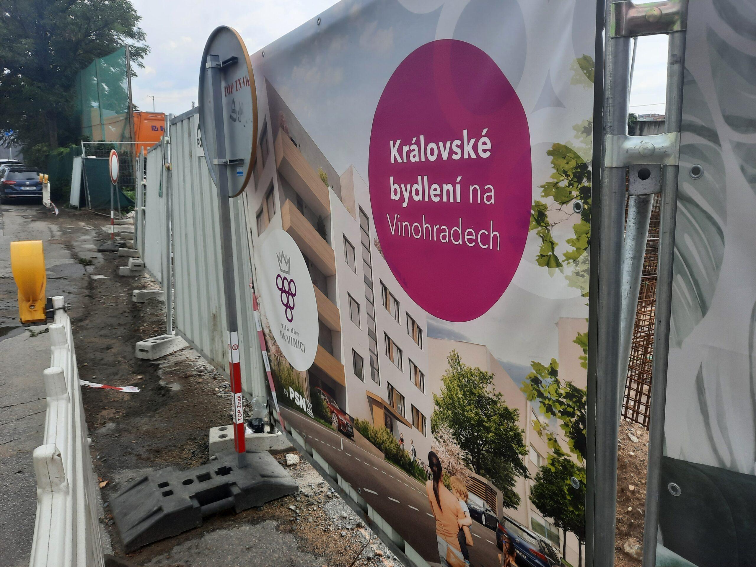 Na Vinici: Nové byty v blízkosti Havlíčkových sadů